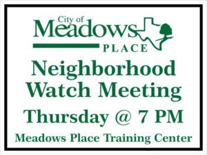 City of Meadows Place