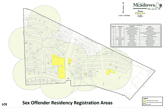 Sex Offender Registration Map 2017
